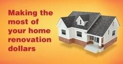 Infographic: Make the Most of Your Home Renovation Dollars